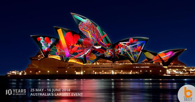 งานมหกรรมแสง สี เสียง VIVID Sydney 2018 – 25 พฤษภาคม – 16มิถุนายน